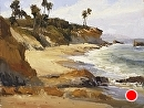 Laguna Breeze by Jim Wodark Oil ~ 12 x 16