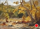 Irvine Wash by Jim Wodark Oil ~ 12 x 16