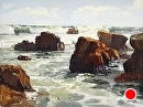 Laguna Surf by Jim Wodark Oil ~ 12 x 16