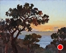 Torrey Pines Sunset by Jim Wodark Oil ~ 16 x 20