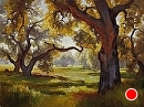 Weir Canyon Meadow by Jim Wodark Oil ~ 36 x 48
