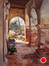 Mission Archway by Jim Wodark Oil ~ 24 x 18