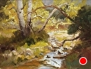 Baker Canyon Creek by Jim Wodark Oil ~ 12 x 16