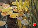Spring Lilies by Jim Wodark Oil ~ 12 x 16