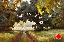 Old Alysal Road by Jim Wodark Oil ~ 24 x 36