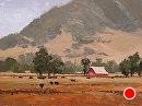 SLO Barn by Jim Wodark Oil ~ 12 x 16