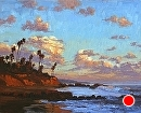 Tropical Laguna by Jim Wodark Oil ~ 24 x 30