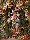 Prayer Garden by Jim Wodark Oil ~ 16 x 12