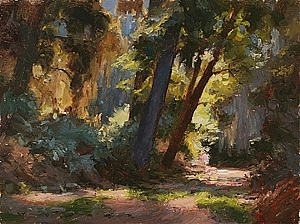 Quiet Light by Jim Wodark Oil ~ 12 x 16