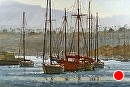 Newport Morning by Jim Wodark Oil ~ 24 x 36