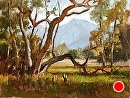 Starr Ranch by Jim Wodark Oil ~ 12 x 16
