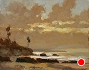 Mushroomed Laguna by Jim Wodark Oil ~ 8 x 10