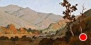 Saddleback Sundown II by Jim Wodark Oil ~ 12 x 24