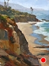 Laguna Bluff by Jim Wodark Oil ~ 16 x 12