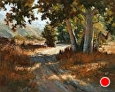 Sycamore Shadows by Jim Wodark Oil ~ 24 x 30