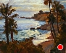 Laguna Sunset by Jim Wodark Oil ~ 16 x 20