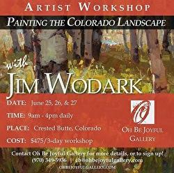 Jim Wodark - Jim Wodark Workshop � Painting the Colorado Landscape
