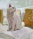 Mr. Snuggles by Jim Wodark Oil ~ 10 x 8