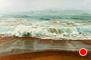 Shore Break by Jim Wodark Oil ~ 40 x 60
