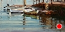Water Taxi by Jim Wodark Oil ~ 12 x 24