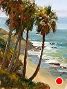Laguna Palms by Jim Wodark Oil ~ 16 x 12