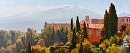 Taormina Vista by Jim Wodark Oil ~ 22 x 52