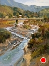Modjeska Runoff by Jim Wodark Oil ~ 16 x 12