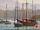 Newport Morning II by Jim Wodark Oil ~ 30 x 40