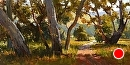 Friendly Path by Jim Wodark Oil ~ 12 x 24