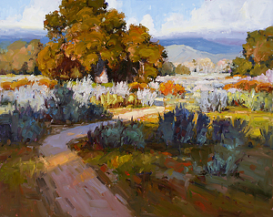 Wild Oak Trail by Jim Wodark Oil ~ 24 x 30