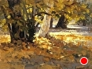 Fallen Leaves by Jim Wodark Oil ~ 12 x 16