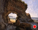 Wedding Ring Arch II by Jim Wodark Oil ~ 14 x 18