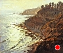 Palos Verdes Cliffs by Jim Wodark Oil ~ 24 x 30