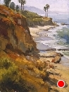 Laguna Cliffs by Jim Wodark Oil ~ 16 x 12