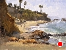 Hiesler Beach by Jim Wodark Oil ~ 12 x 16