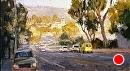 Golden Laguna by Jim Wodark Oil ~ 11 x 20