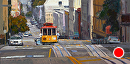 San Francisco Treat by Jim Wodark Oil ~ 12 x 24