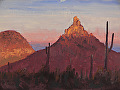 Pinnacle Peak 9x12 by Chase Almond  ~  x