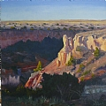 Palo Duro Daybreak by Chase Almond Oil ~ 20 x 20