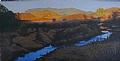 Big Bend Daybreak by Chase Almond Oil ~ 18 x 36