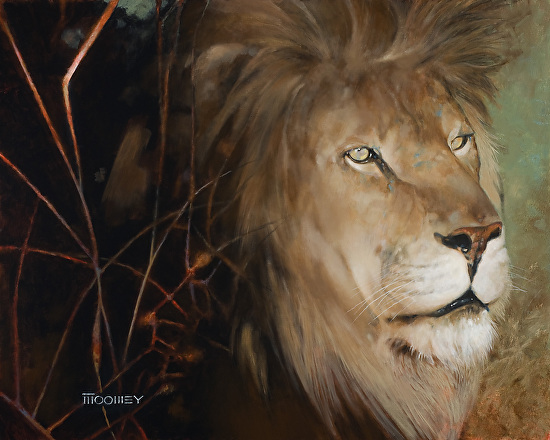 King of the Cats - Oil