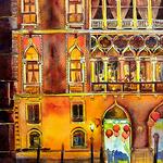 Helen K. Beacham - Venice, Italy: Plein air Sketching or Watercolor