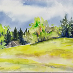 Helen K. Beacham - Easy Greens and Gestural People by Annie Strack