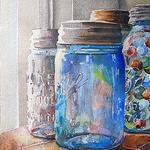 Helen K. Beacham - Glass Impressions: Sunlit Ball Jars