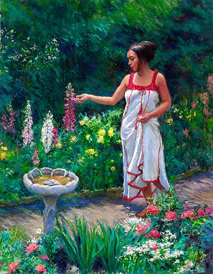 Summer Garden - Pastel