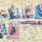Ellen Sinclair - THE PAINTED GARDEN ART SHOW 2020 - GARDENS BY THE SEA