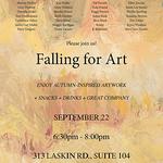 Ellen Sinclair - FALLING FOR ART