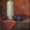 Paisley, Plums and Old Bottle
