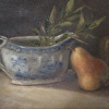 Still Life with Spode and Pear