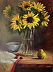 'Sunflowers' by Melody Boggs